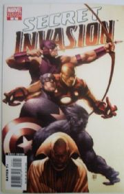 Secret Invasion #2 McNiven Variant 1:25 Marvel comic book